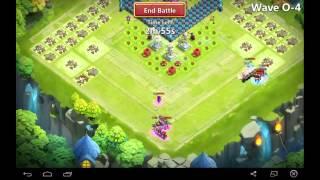 getlinkyoutube.com-castle clash - th 17 base design : hbm O + ht 12