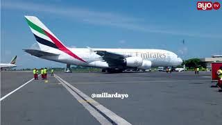 Faida 4 Tanzania ilizopata baada ya ndege ya Emirates kutua DSM width=