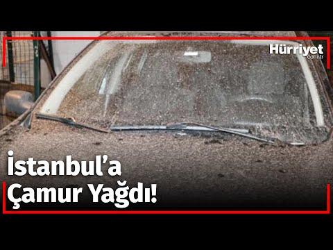 İstanbul'da Gece Çamur Yağdı, Sürücüler Soluğu Oto Yıkamacılarda Aldı