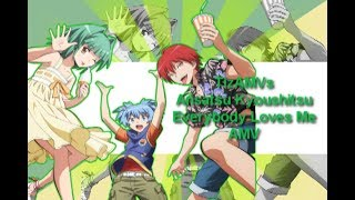 getlinkyoutube.com-[AMV] Ansatsu Kyoushitsu - ✗ Everybody Loves Me ✗