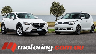 Mazda CX-3 Maxx VS Suzuki Ignis GLX