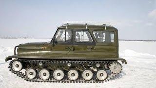 getlinkyoutube.com-УАЗ на гусеничном ходу Ухтыш / UAZ crawler Uhtysh   #вездеходы