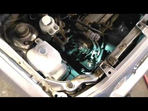 Perodua Kenari Timing Belt Replacement, Daihatsu Move 3 Cylinder 1.0