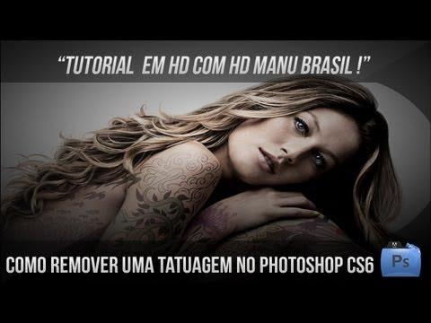 Veja Como Remover Uma Tatuagem No Photoshop CS6