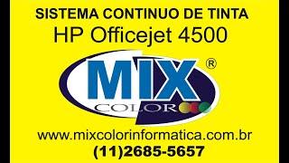getlinkyoutube.com-INSTALAÇÃO COMPLETA BULK INK  HP 4500