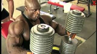getlinkyoutube.com-Ronnie Coleman   Chest workout