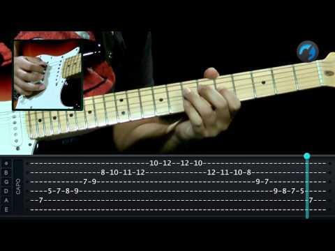 Penta Blues Maior e Menor - (como tocar - aula de guitarra)