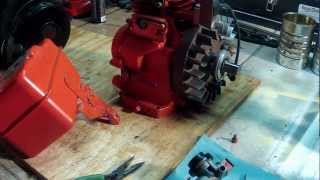 getlinkyoutube.com-#16 - Carburetor Linkage Setup - Briggs and Stratton 5HP - 130202