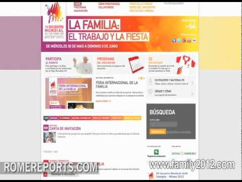 The World Meeting of Families in Milan makes website renovation as event approaches