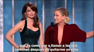 getlinkyoutube.com-Monologo Tina Fey &  Amy Poehler - GLOBOS DE ORO 2013 (SUBTITULADO ESPAÑOL)