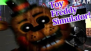 getlinkyoutube.com-Golden Toy Freddy is awesome! Toy Freddy simulator!