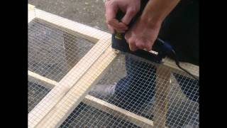 getlinkyoutube.com-Pheasant Project  (Part 1)-Building the Pheasant Small Coop