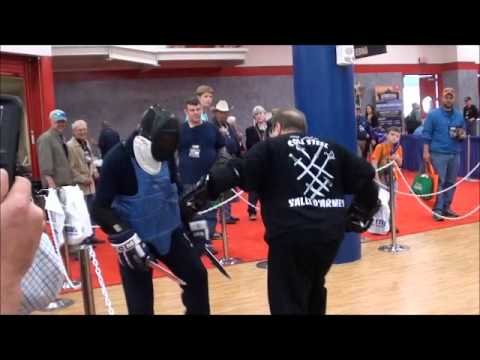 Cold Steel's Lynn Thompson On Knife Fighting part3