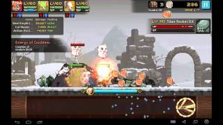 getlinkyoutube.com-Crusaders Quest - Tundra 1-30 Hard - (Joan, Mew, Archon) SBW