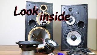 Look inside Edifier Studio 7 (R2700) active 2.0 Speakers