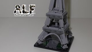 getlinkyoutube.com-Lego Architecture 21019 The Eiffel Tower / Der Eiffelturm - Lego Speed Build Review