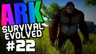 "getlinkyoutube.com-Ark Survival Evolved #22 ""lvl 100+ Gigantopithecus, Bigfoot Taming"""