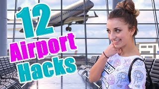 getlinkyoutube.com-12 Airport Life Hacks Every Girl Should Know | Brooklyn and Bailey