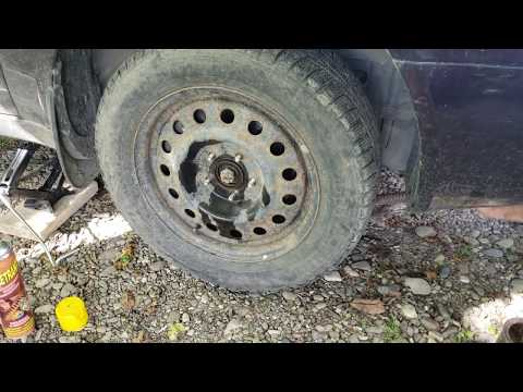 Как поменять колесо на машине? Hyundai Sonata