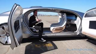 getlinkyoutube.com-Mercedes Benz F 015 Walkthrough (live coverage in SF)