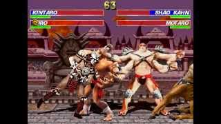 getlinkyoutube.com-Kintaro & Goro VS Shao Kahn & Motaro [Mortal Kombat Project]
