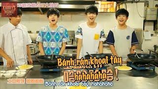 [Vietsub] TFBOYS vào bếp nấu ăn (TFBOYS 下厨) @ TF Teens Go CUT ep 25 (TF少年GO!25)