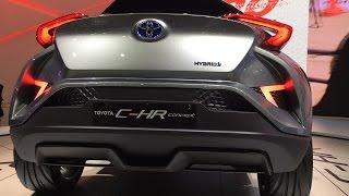 getlinkyoutube.com-2017 Toyota C-HR Concept   New Car   Future Cars