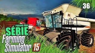 getlinkyoutube.com-Farming Simulator 2015 - Colhendo Soja com as Brutas