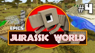 getlinkyoutube.com-EPiC'S Jurassic World:  LITTLEFOOT! Minecraft Dinosaurs Custom Modded Survival [1.8 Roleplay]
