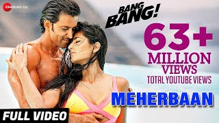 getlinkyoutube.com-Meherbaan Full Video | BANG BANG! | feat Hrithik Roshan & Katrina Kaif | Vishal Shekhar