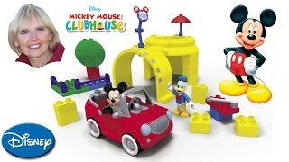 getlinkyoutube.com-♥♥ Mega Bloks Mickey Mouse Clubhouse Mickey's Garage