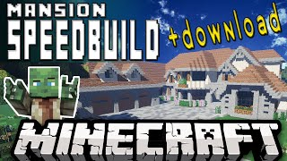 getlinkyoutube.com-Minecraft Mansion SpeedBuild