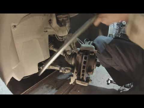 Замена сайлентблоков переднего рычага и установка рычага на машину