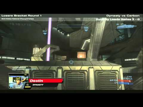 MLG Dallas 2010 Nationals ♦ Losers Bracket Round 1 ♦ Dynasty vs Carbon ♦ Part 3