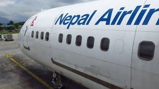 getlinkyoutube.com-Nepal Airlines 757-2F8(C) - Flight from Kuala Lumpur Int'l (KUL) to Kathmandu Tribhuvan (KTM)