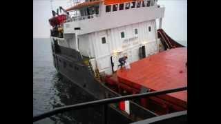 getlinkyoutube.com-Wreck of the ship BERIL in Pacific Ocean
