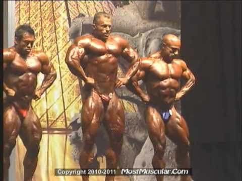 IFBB Pro bodybuilders on stage at the 2010 Europa Orlando