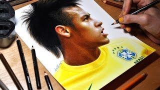 getlinkyoutube.com-Drawing Neymar Júnior