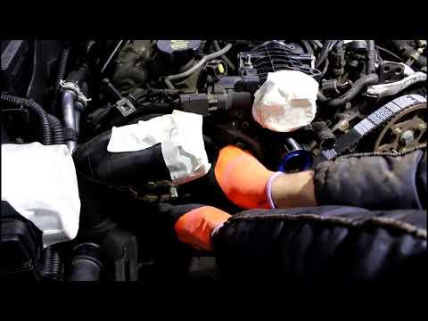 Замена ремня и роликов ГРМ  2часть Land Rover Discovery 3 Ленд Ровер Дискавери 3