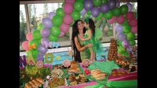 getlinkyoutube.com-Tinkerbell Birthday Party by Vida