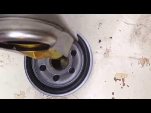 Как заменить масло в двигателе Subaru