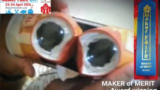 getlinkyoutube.com-Make Your VR 3D Lenses and headset from a Bottle and Cups