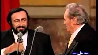 getlinkyoutube.com-Luciano Pavarotti and father - 2001