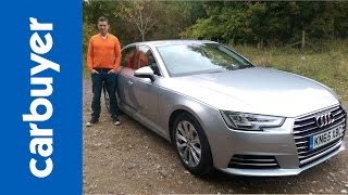 getlinkyoutube.com-New Audi A4 saloon 2016 review - Carbuyer