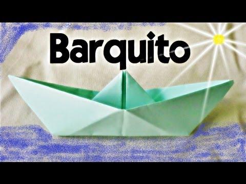 Cómo hacer un Barco de Papel - Papiroflexia