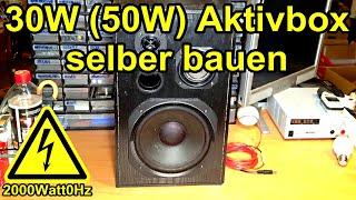 getlinkyoutube.com-50W Aktivbox selber bauen (12V, 25€)