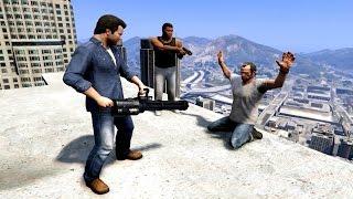 GTA V Franklin And Michael kills Trevor