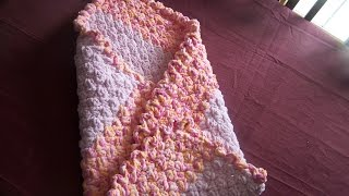 getlinkyoutube.com-video 1 crochet easy heavenly baby blanket