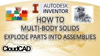getlinkyoutube.com-How to use Multi-Body Parts, Parts to Assemblies   Autodesk Inventor