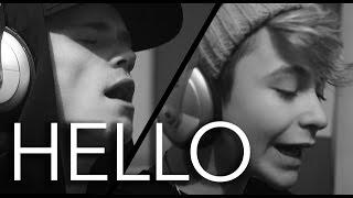 getlinkyoutube.com-Adele -  Hello (Bars and Melody Cover)